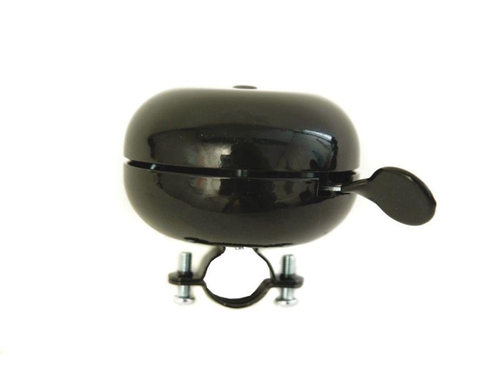 Fietsbel Widek Ding Dong - zwart ø80mm