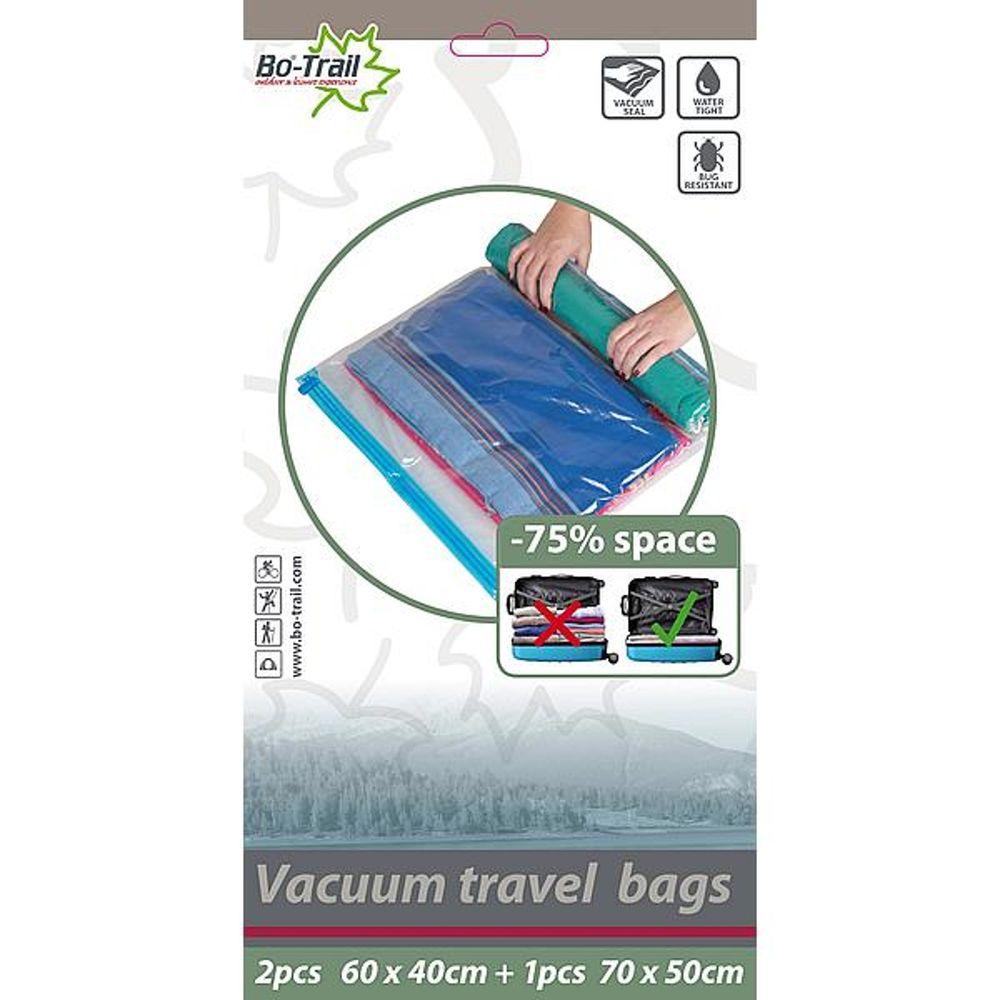 BT Vacuum Travelbag 2xM, 1xL