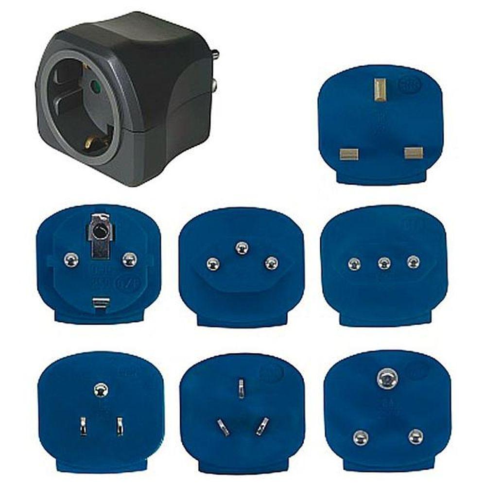 Brennenstuhl - Reisstekkers - Luxe - 7 Adapters