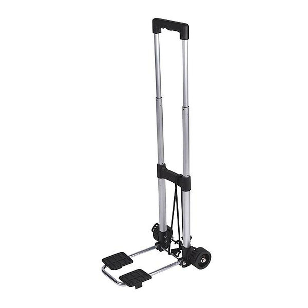 Bo-Camp - Bagagetrolley - Compact - Inklapbaar - Aluminium - 25 KG