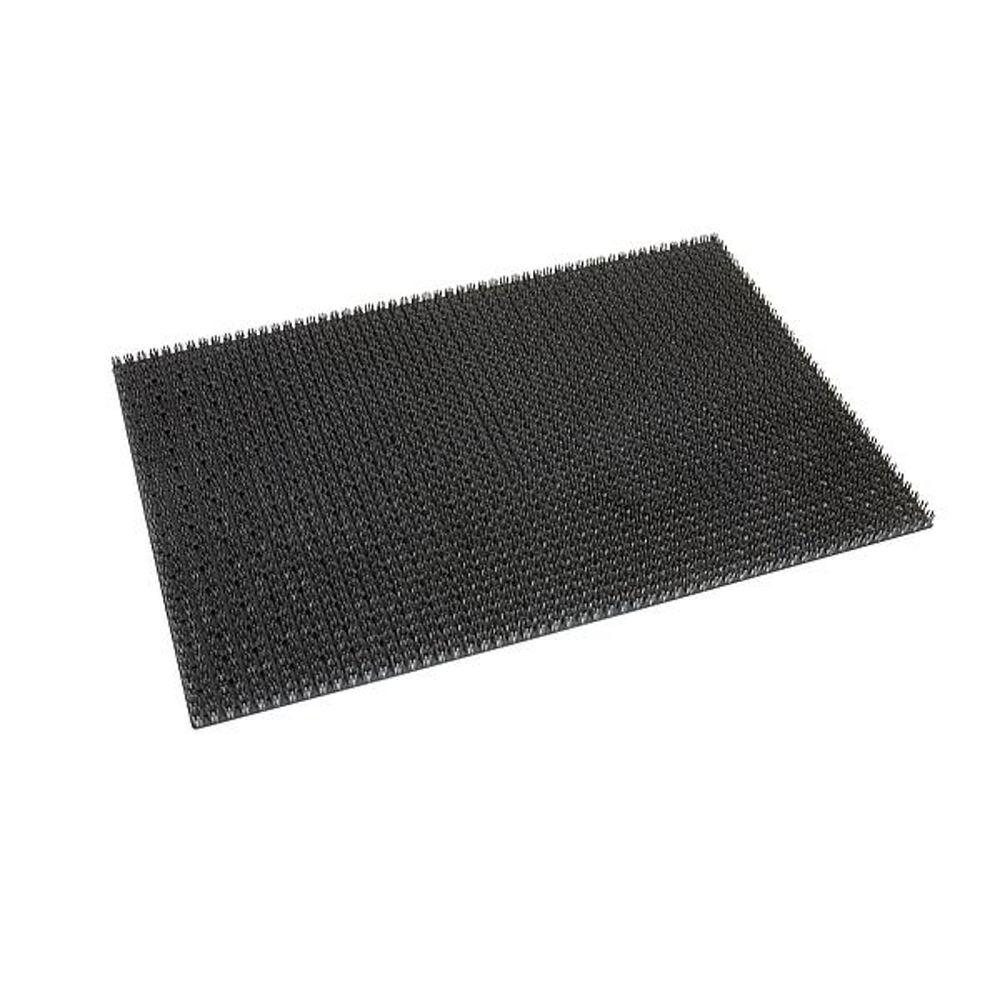 BC Deurmat kunstvezel grijs 40x60cm