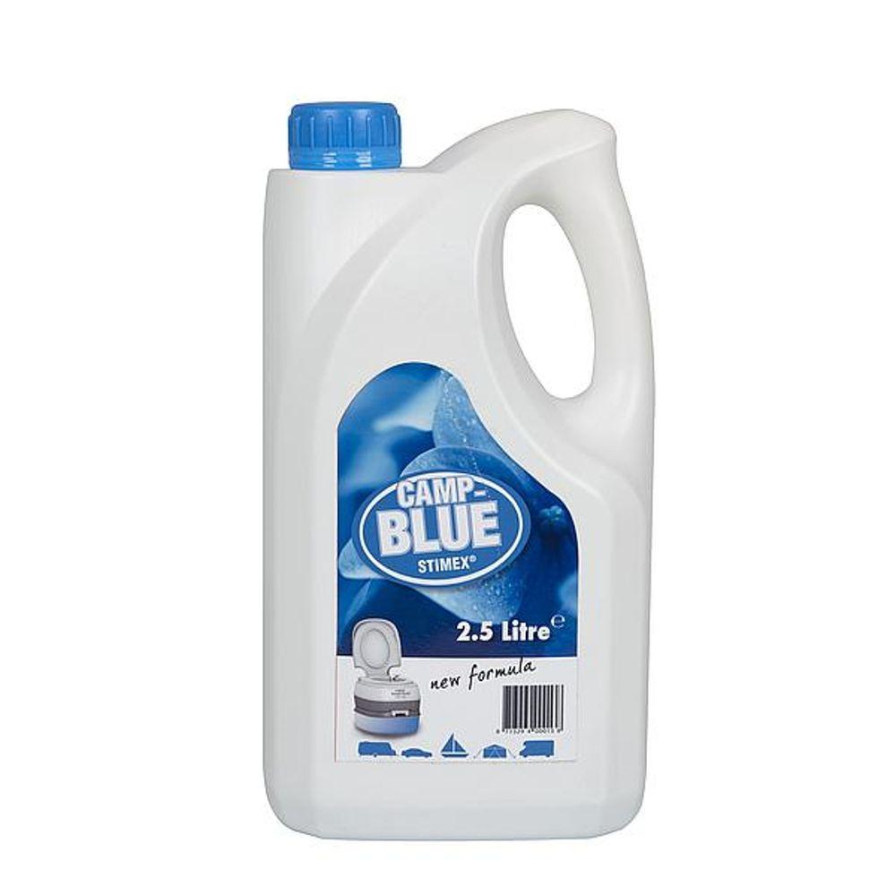 Stimex - Toiletvloeistof - Camp Blue - 2,5 Liter