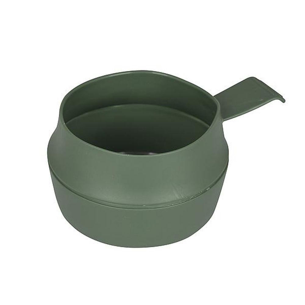 Kom - Opvouwbaar - 300 ml - Kunststof - Groen