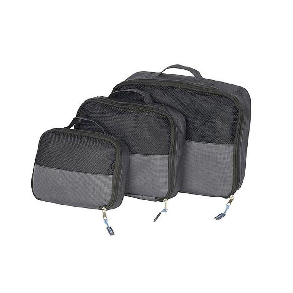 Bo-Camp - Travel pack cubes - 3 maten - Set 3 stuk
