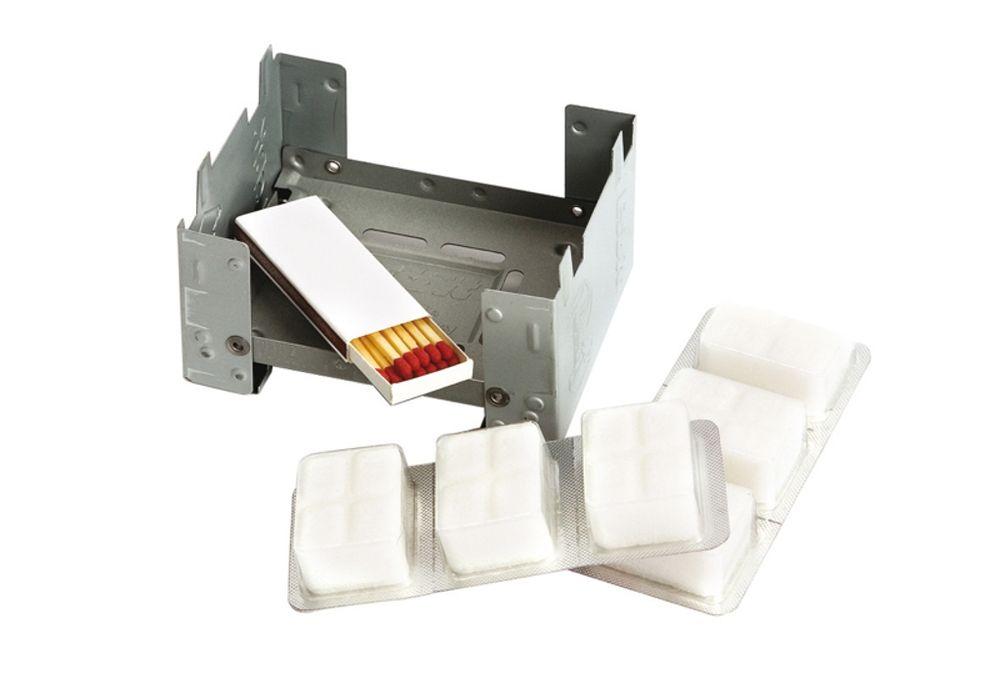 Esbit - Kookbrander - Komfoor opvouwbaar - Inclusief brandstof blokjes
