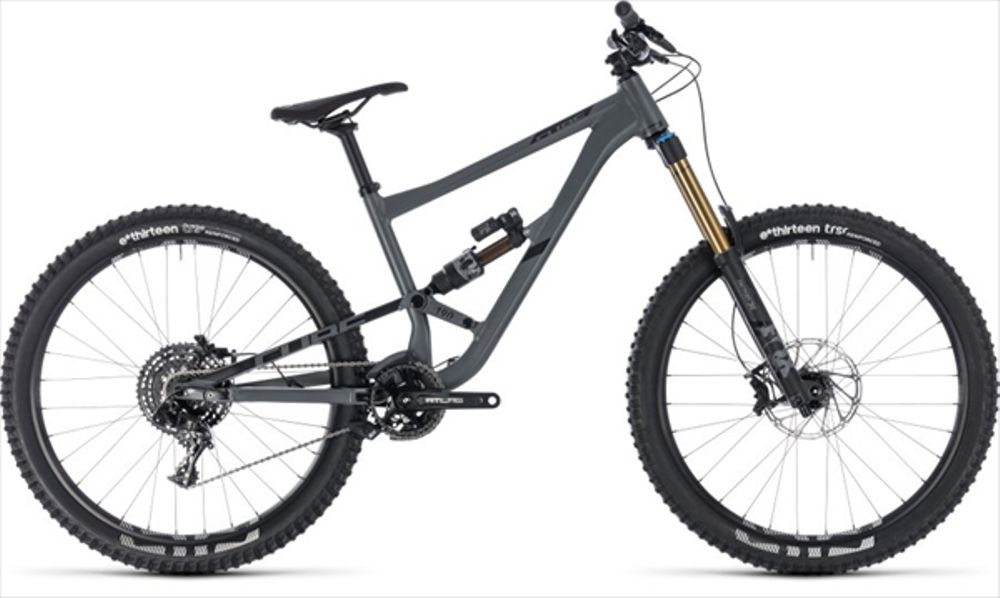 CUBE HANZZ 190 TM 27.5 GREY/BLACK 2018 18