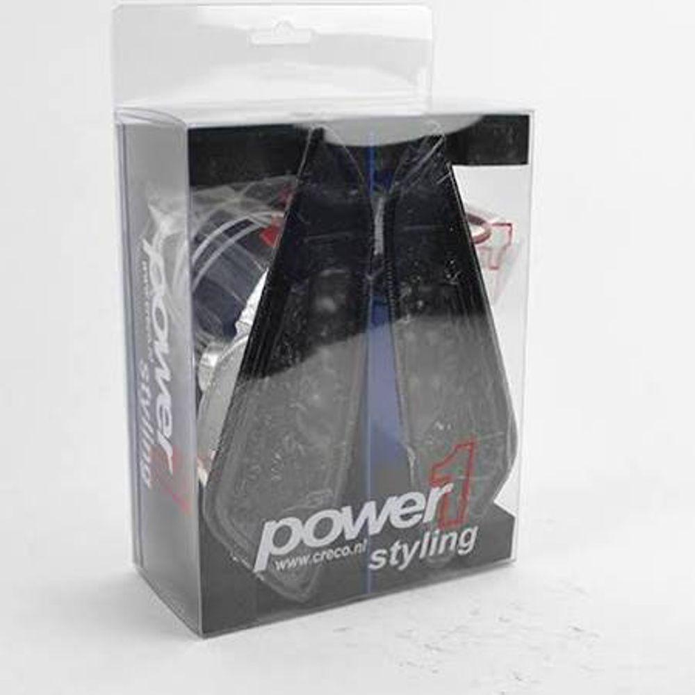 Knipperlicht Set Power1 Voorzijde LED Smoke Vespa Sprint/Primavera