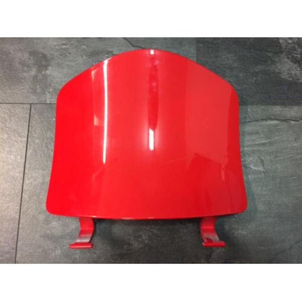 Beenschilddeksel Vespa LX Rood Dragon Red 894 Origineel