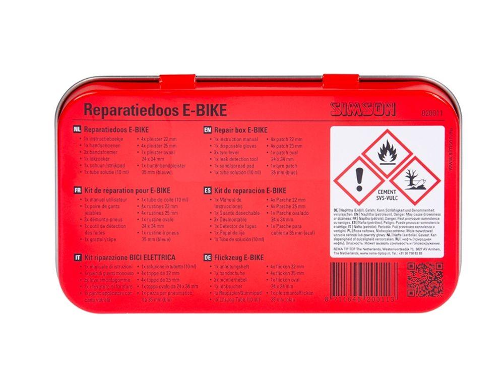 Simson Bandenreparatieset E-Bike