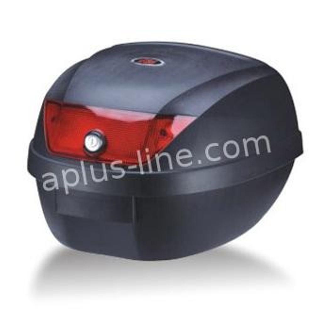Topkoffer Scooter Basic Aplus 28 ltr Zwart