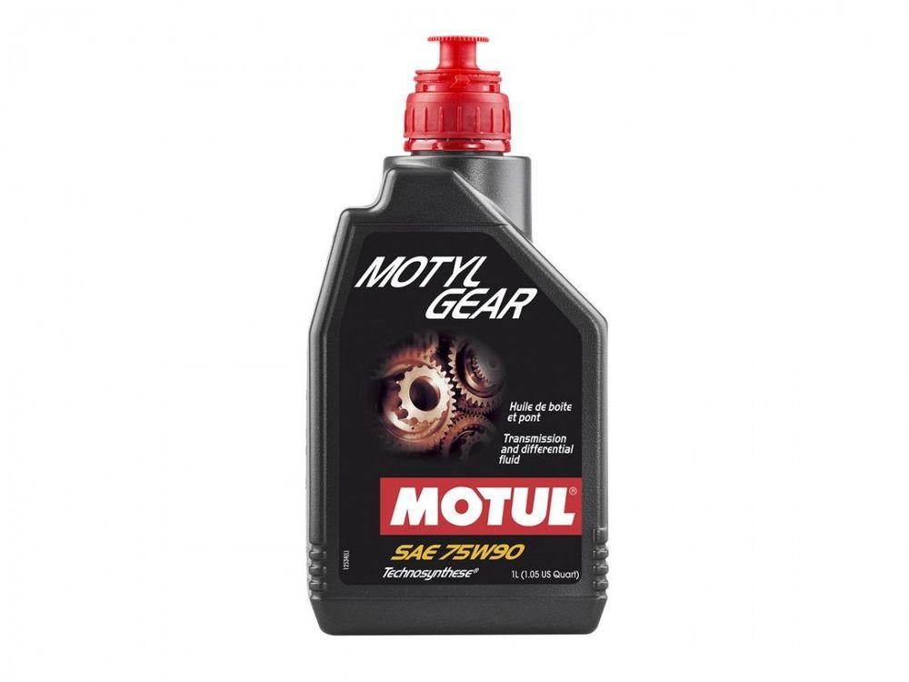 Transmissieolie Motul 75w90 100% Synthetisch 1Ltr