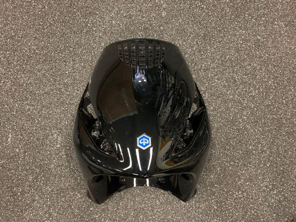 Voorkap Piaggio Zip 4T Zwart Glans Gebruikt