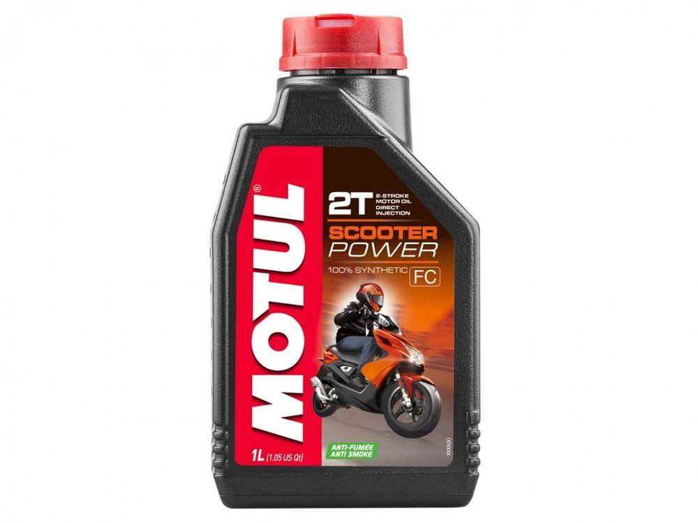 Motul Scooter Power 2-Takt Olie 100% synthetisch