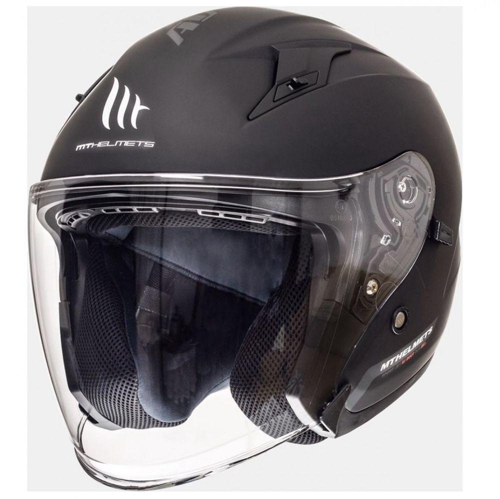 Helm MT Avenue SV Zwart-Mat - XL