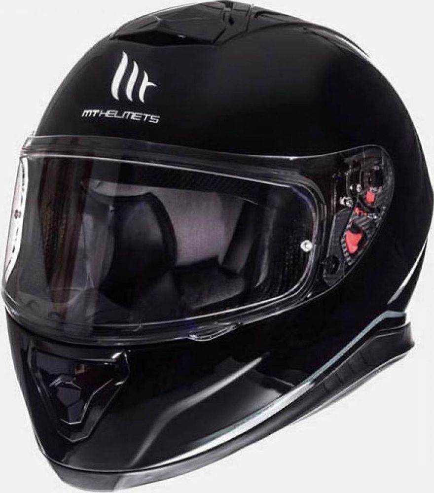 Helm MT Thunder III SV Solid Zwart Glans - XL