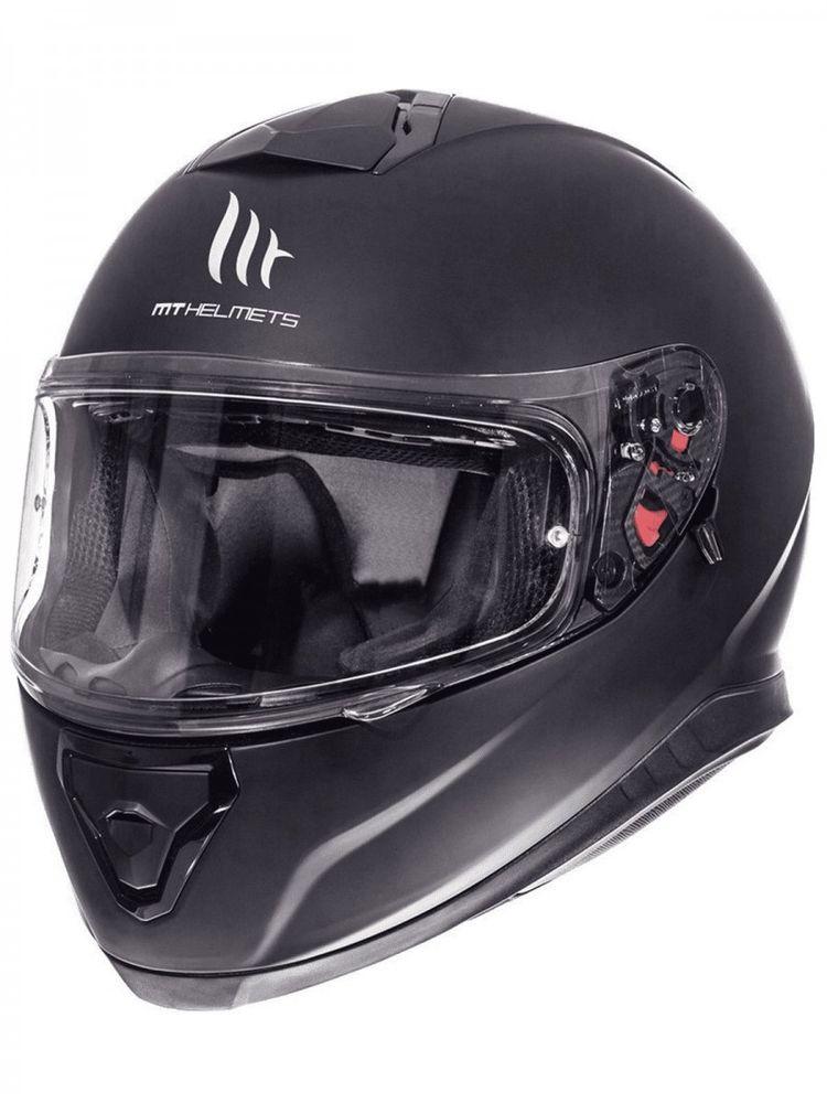 Helm MT Thunder III SV Solid Mat-Zwart - XXL