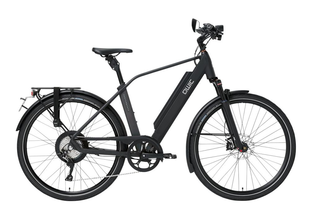 Qwic Performance RD11 Speed, Incl. 735Wh!, Matte Black