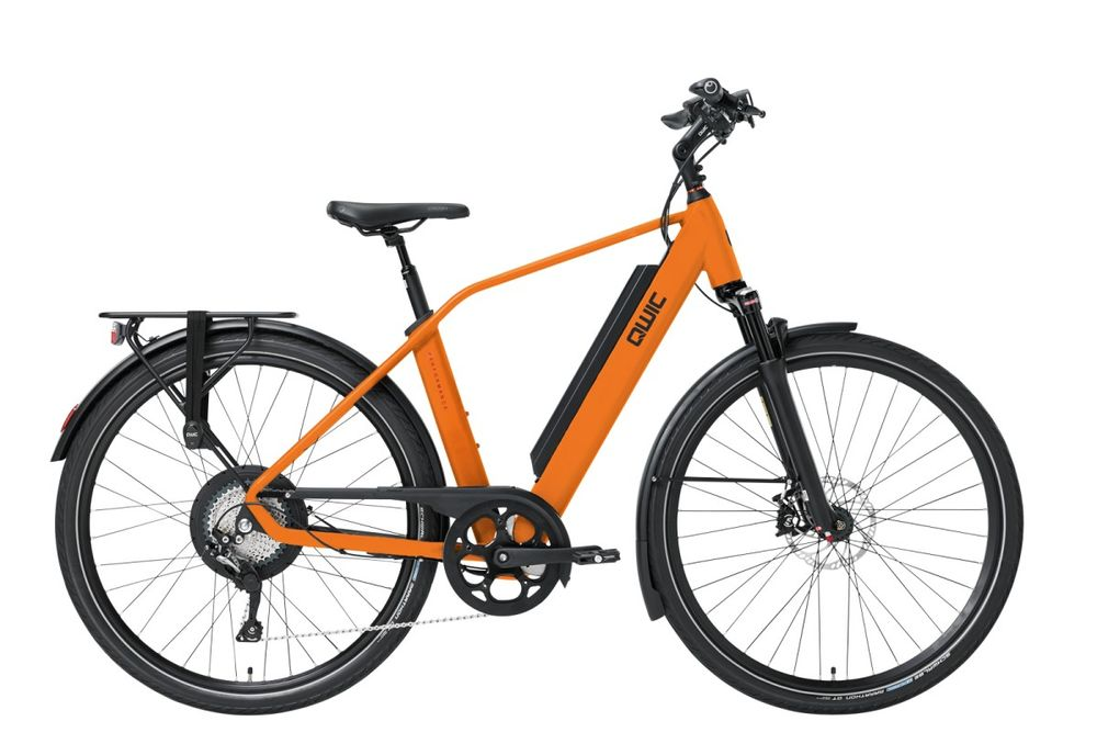 Qwic Performance RD11, Incl. 735Wh!, Dutch Orange