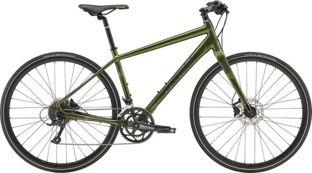 Cannondale Quick Disc 3, M, Vulcan Green