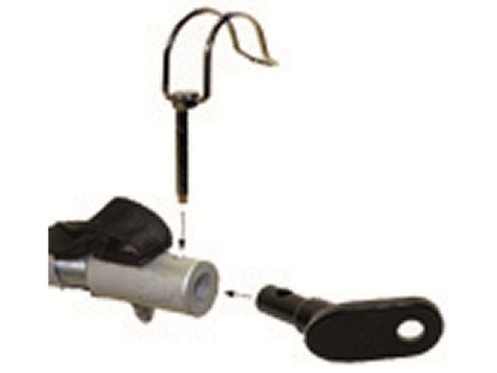 Aanhangwagen koppeling steun op achteras ronde buis