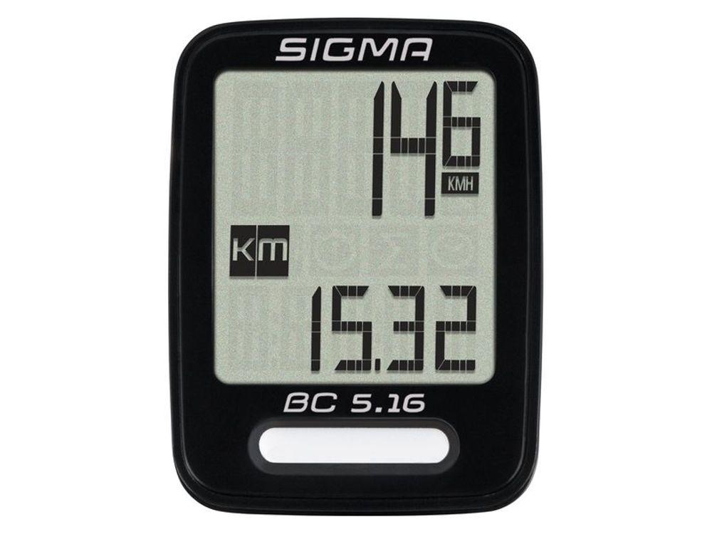 Sigma BC5.16 fietscomputer 5 functies