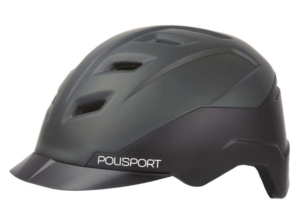 E-city speed-pedelec helm 54-59cm M zwart/antraciet
