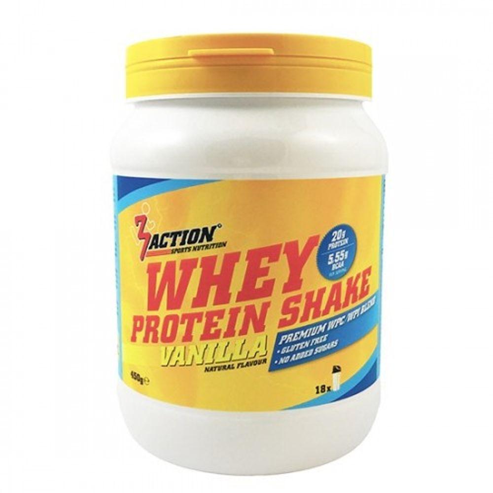 3Action Whey Protein Shake Vanille 450g 1201000301