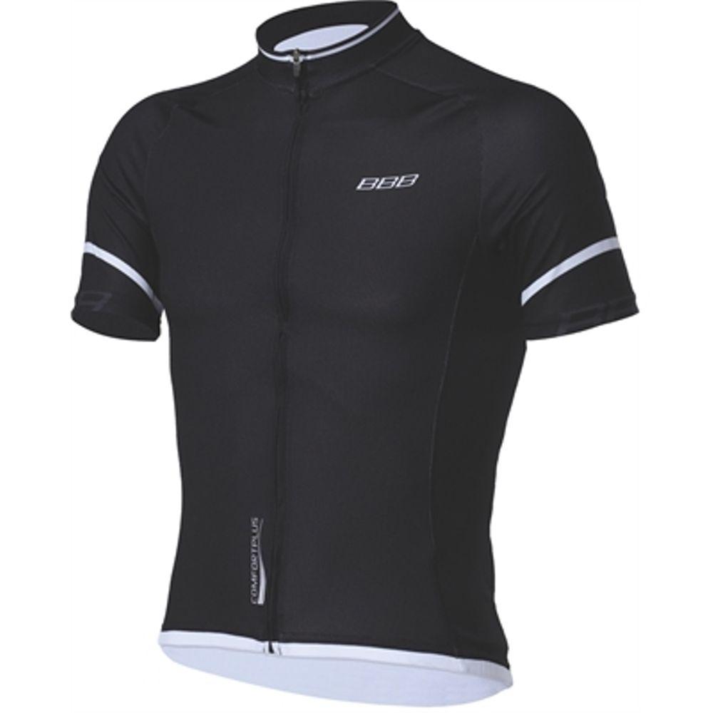 BBW-246 Shirt K.m. ComfortFit M Zwart/wit