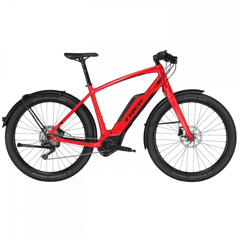 Trek Super Commuter+ 8S, Viper Red
