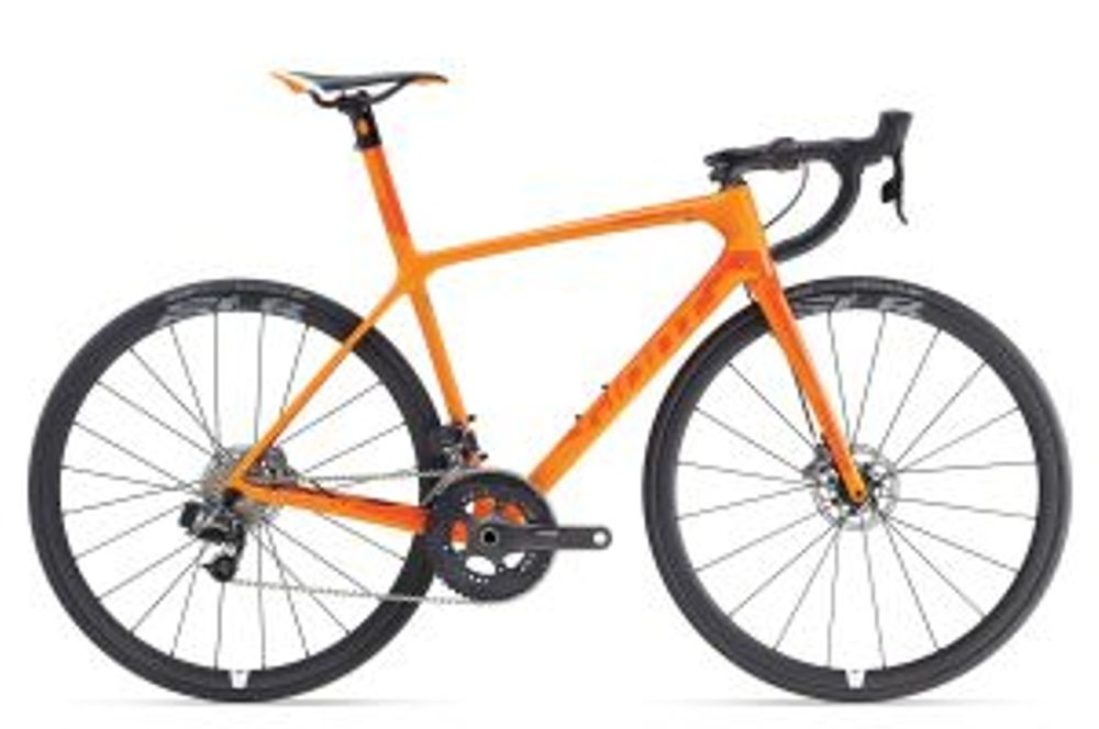 Giant TCR Advanced SL Disc L Orange
