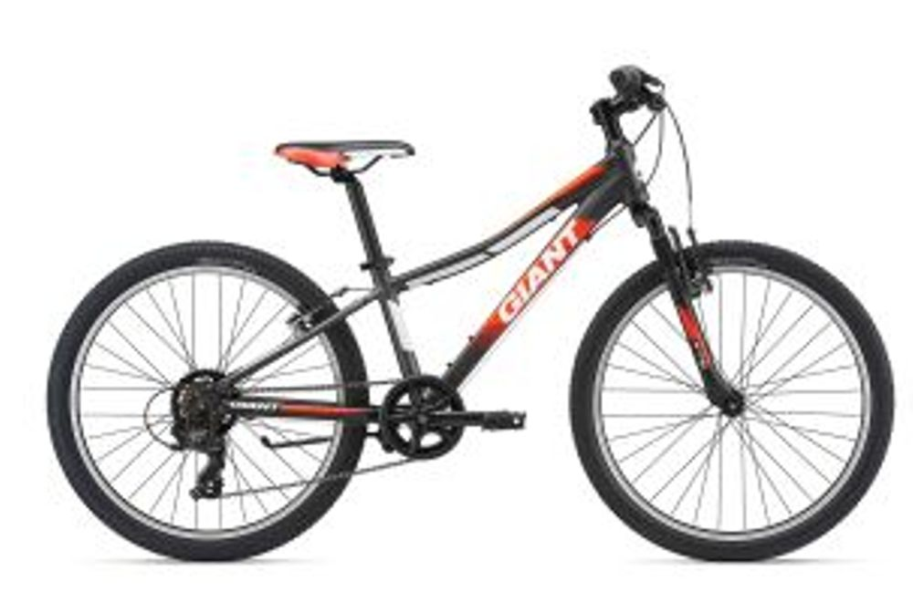Giant XTC Jr 2 24 Charcoal/Red
