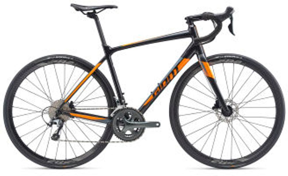Giant Contend SL 2 Disc L Gun Metal Black