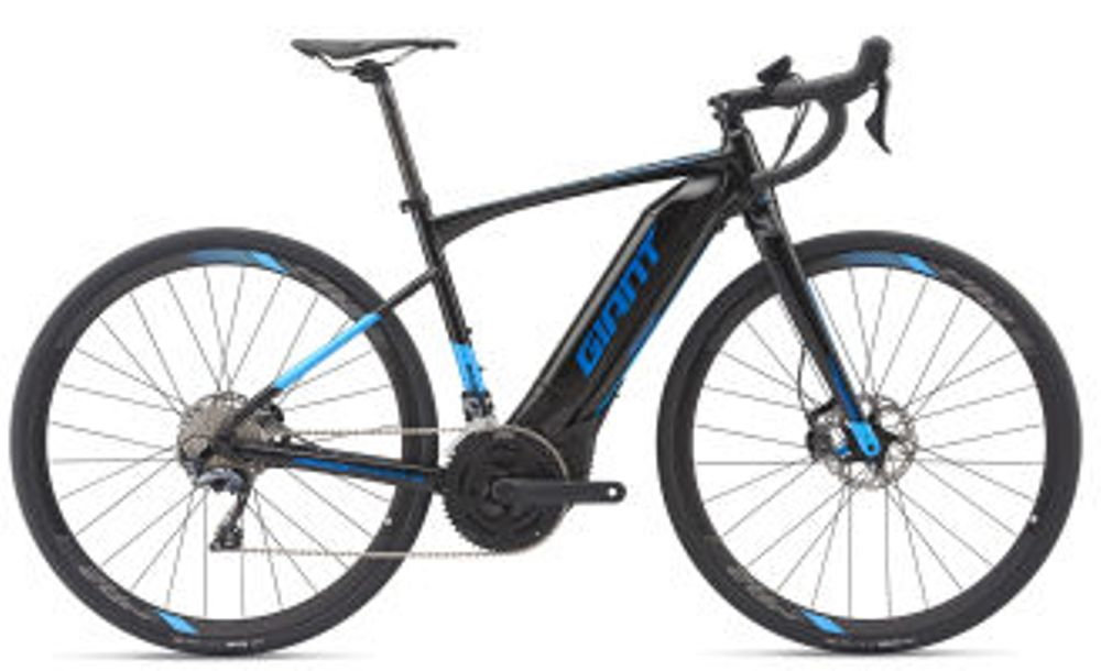 Giant Road-E+ 1 Pro 25km/h S Black/Blue