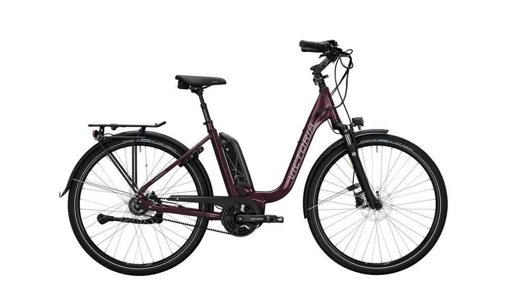 Deep 28 aubergine red / anthracite 5-Gang SHIMANO