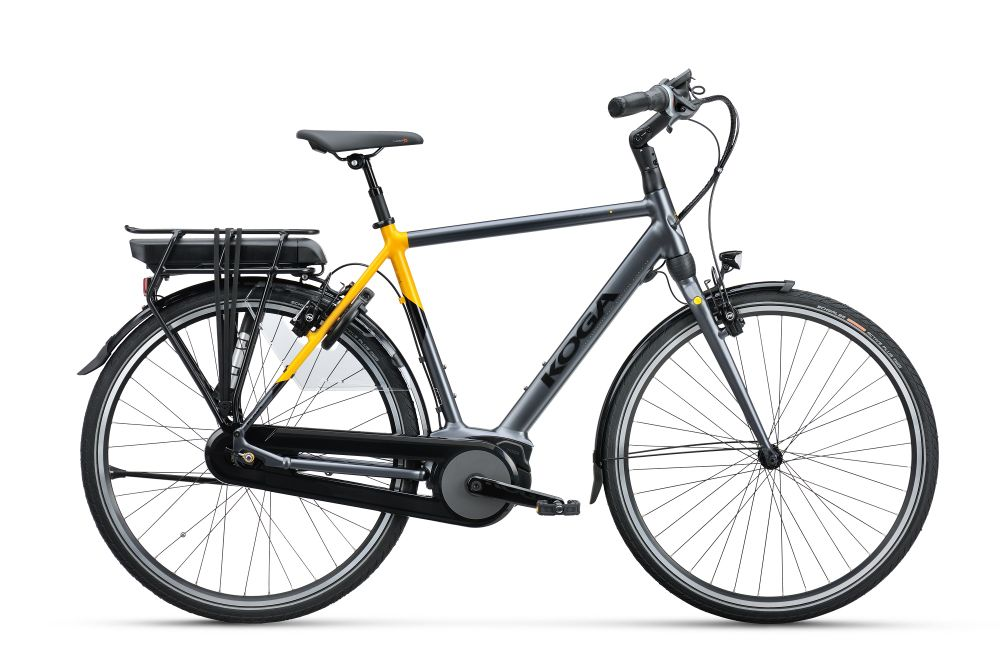 Koga E-NOVA 54CM 500WH Grey / Lemon Curry Matt