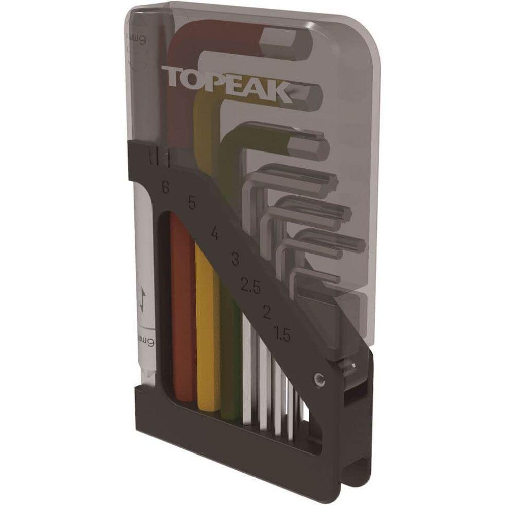 Topeak Inbus set verlengde arm ToolCard