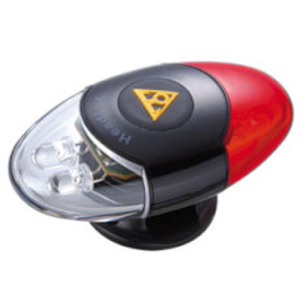 Topeak Helm led HeadLux batterij zwart