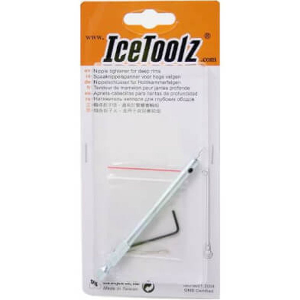Icetoolz nippelspanner hoge velg/hand of elect. sc
