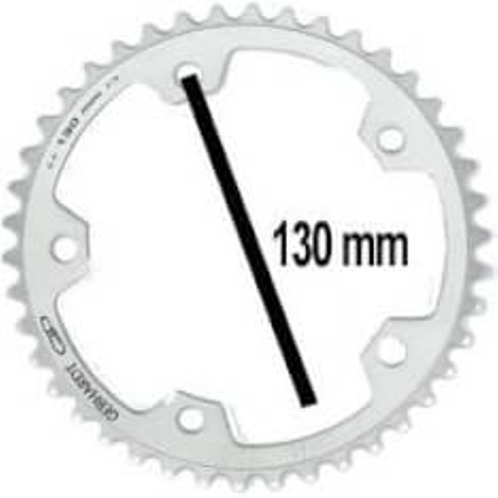 Gebhardt kettingblad 38t 5gts zilver 9sp