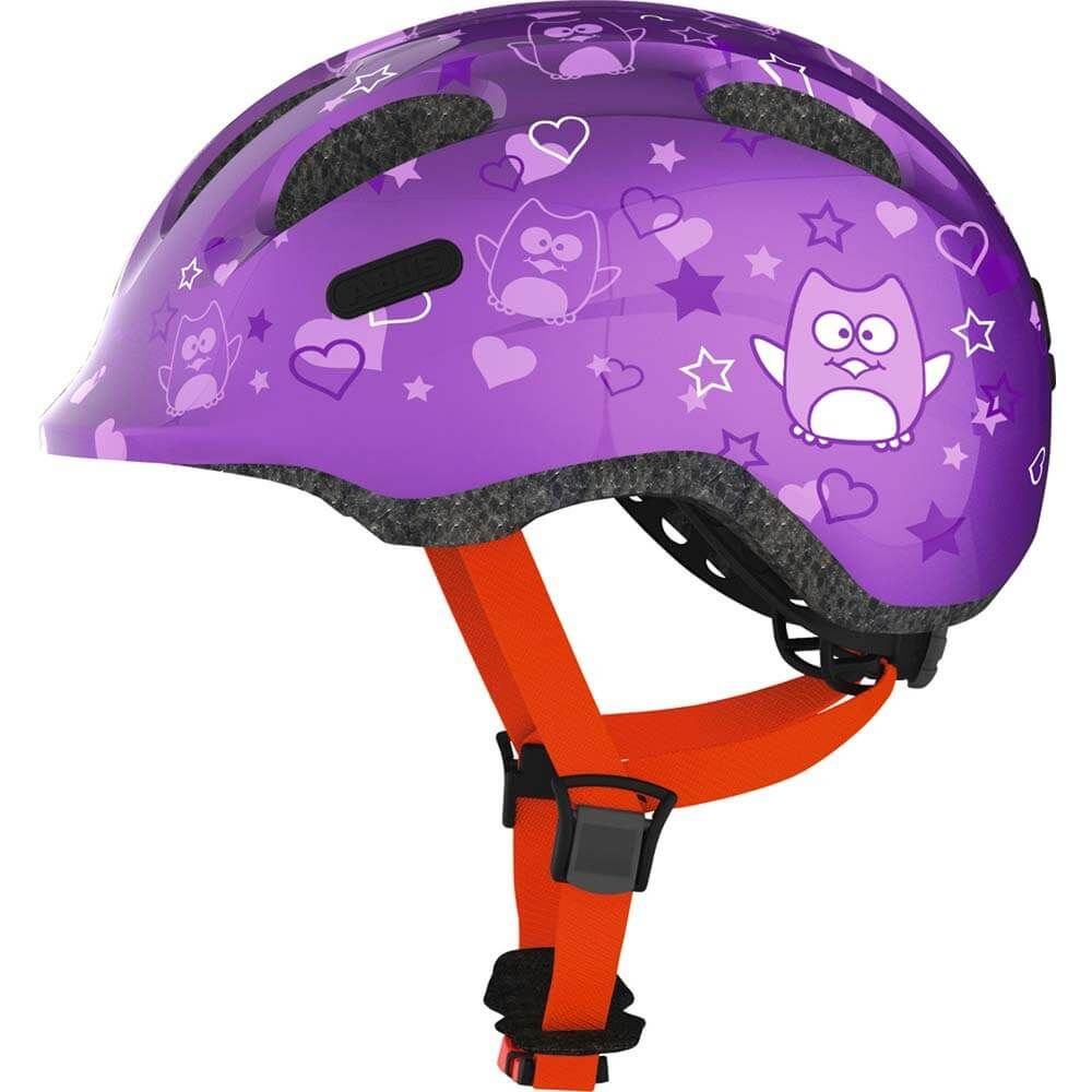 Abus helm smiley 2.0 purple star m 50-55