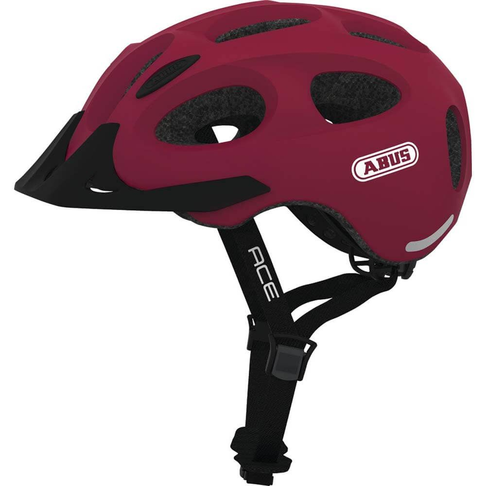 Abus helm youn-i ace cherry red l 56-61