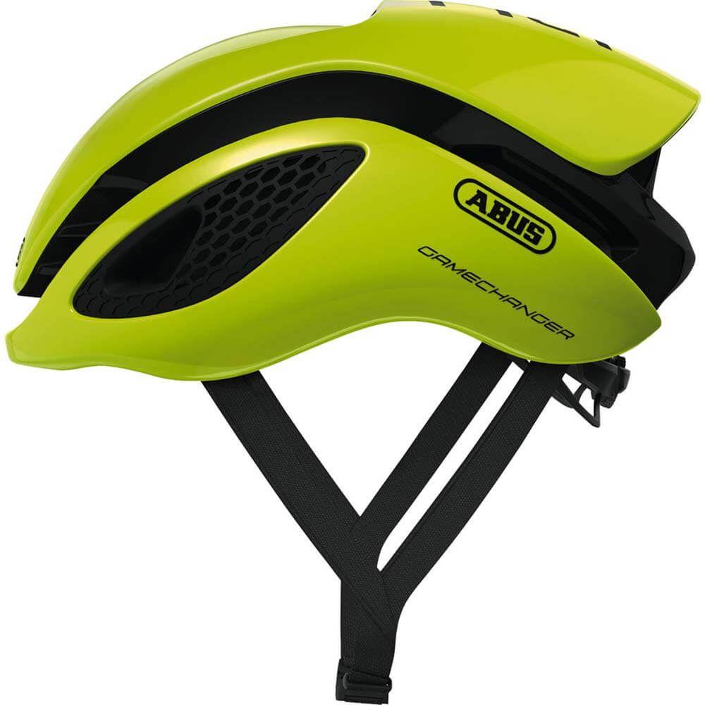 Abus helm Gamechanger neon yellow M 52-58