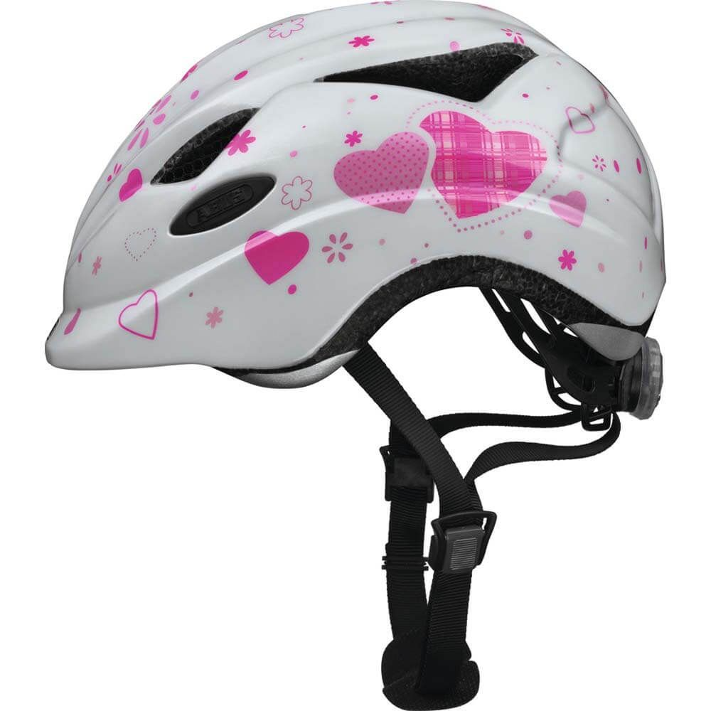 Abus helm anuky white hearts s 46-52