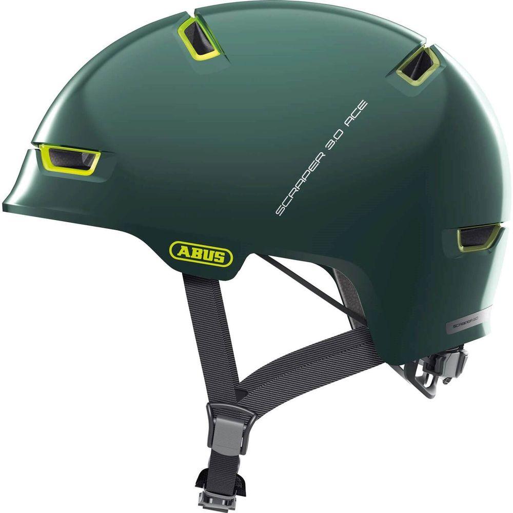 Abus helm scraper 3.0 ace ivy green m 54-58