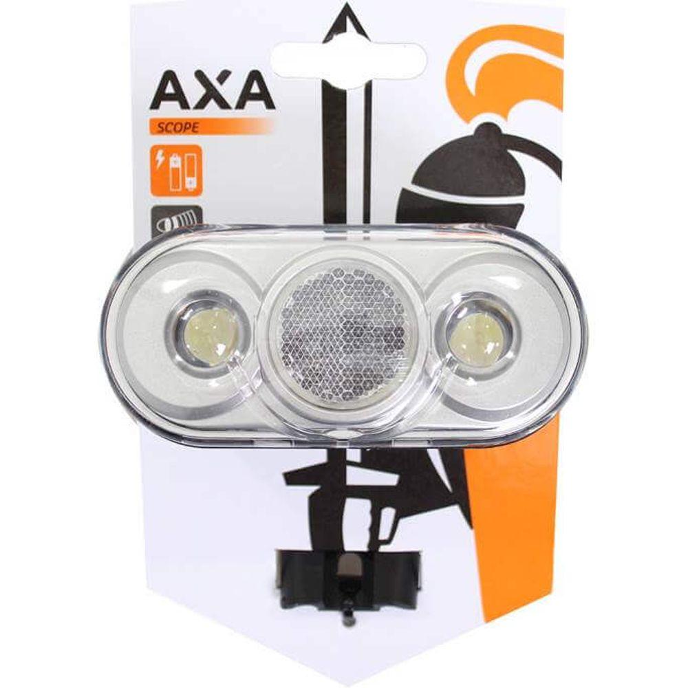 Axa led lamp voorlicht scope 4 lux vorkbevesting b