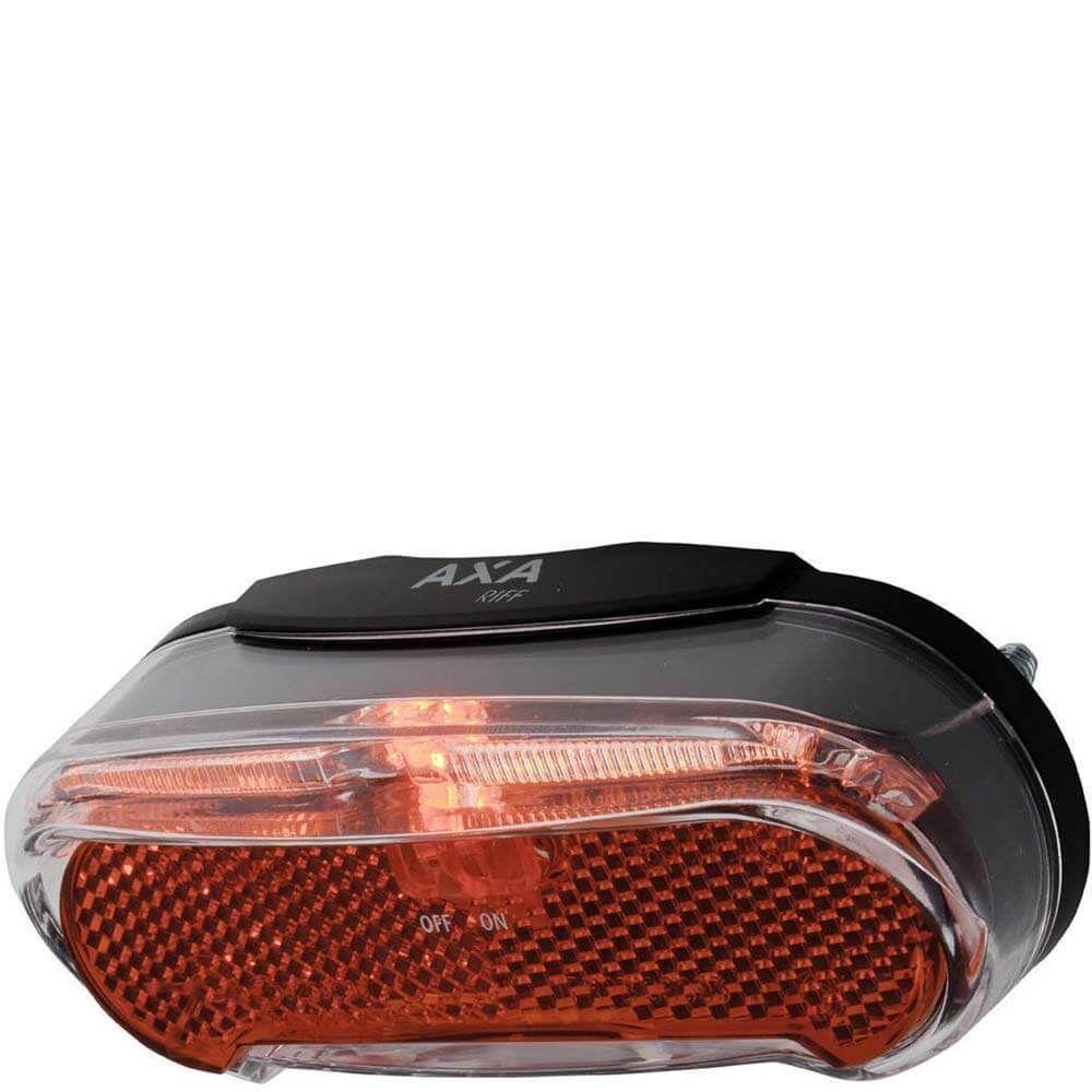 Axa led lamp achterlicht riff on/off batterij 50-8