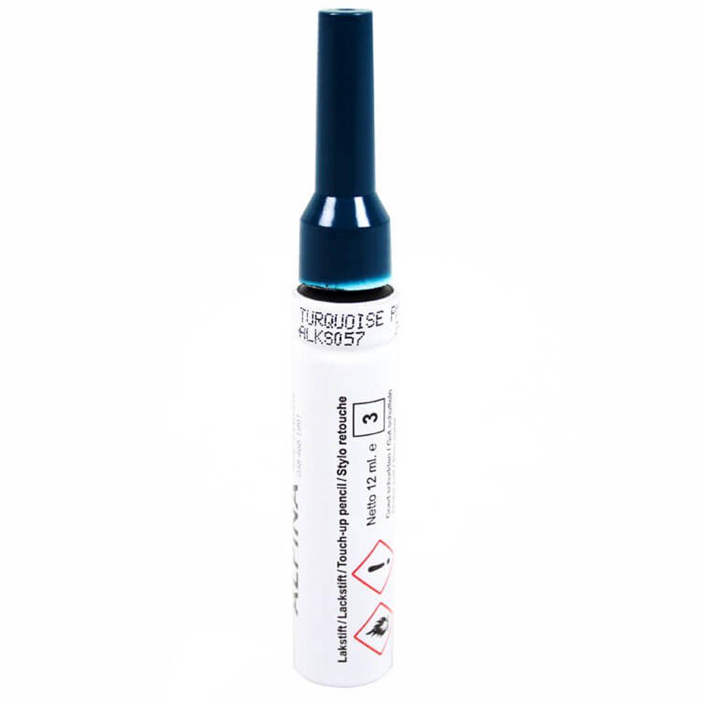 Alpina lakstift Turquoise PMS548