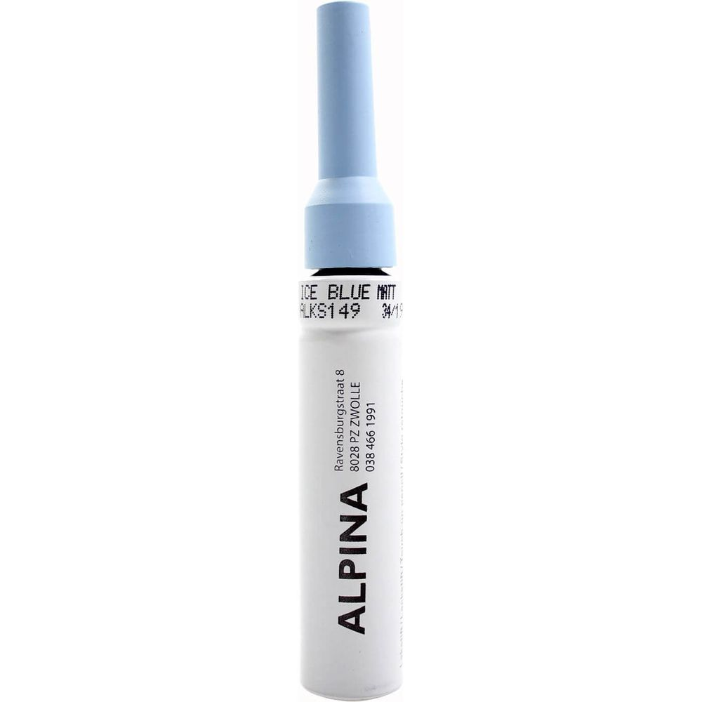 Alpina Lakstift Ice Blue PMS291 Matt