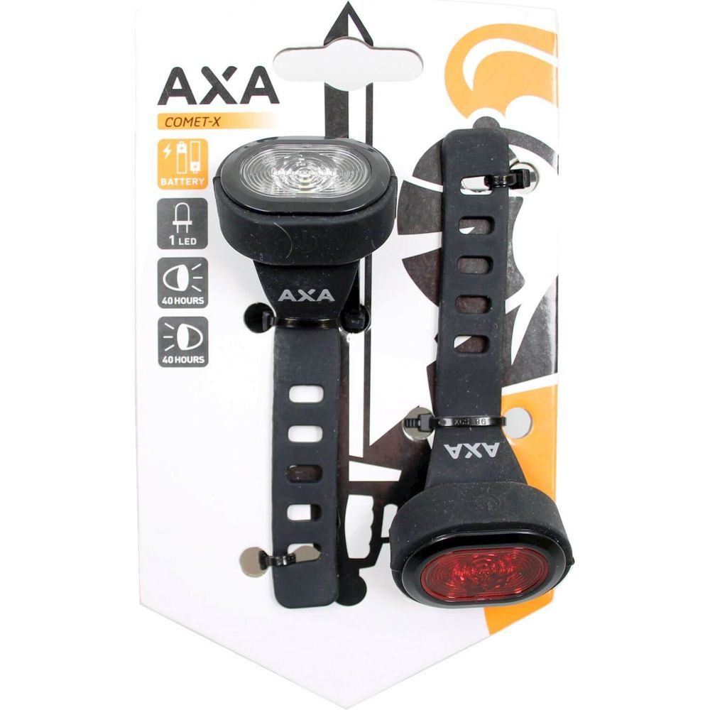 Axa verlichtingsset Comet -X batterij