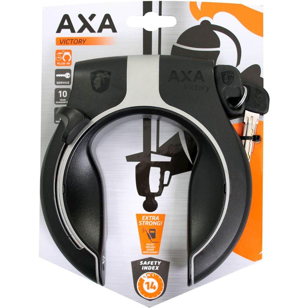 Axa ringslot victory spatbord zwart/grijs art2 op
